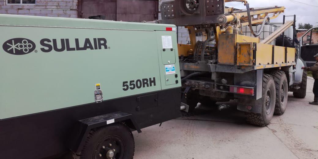 Поступление на склад компрессоров Sullair 550RH